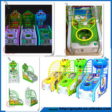 2015 New kids coin operated street basketball arcade game machine