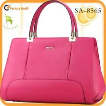 2015 fashion leather bag women tote bag handbag leather with high quality