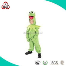 Hot Custom Made child frog costume for girl