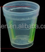 plastic fluorescence glow cup