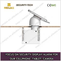 magnetic mobile phone security sensor holder for furniture counter rack