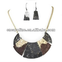 Fashion New Design Connected Earring Necklace