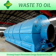 Wide recognition and good reputation waste tire to oil pyrolysis machine