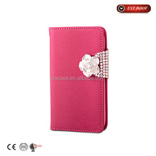 Flip Design leather case for Apple iPhone Compatible Brand, new arrival pu leather case cover for iphone 6
