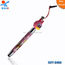 new style plastic touch cartoon pen