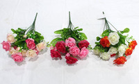 SJF74 Natural preserved style folwers , artificial beautiful rose flower with good material