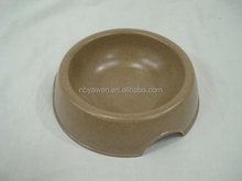 2014 Hot Sale High Quatity Bamboo Powder Pet Bowl