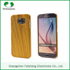 New style PC wooden environmental protective material 5 colors wood cell phone mobile phone cover case For Samsung S6 / S6 Edge