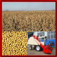 Best quality soybean harvest mung bean harvester combine