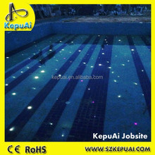 Swimming pool light, led swimming pool light, LED FIBER OPTIC pool light