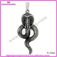 Fashionable stainless steel pendants jewelry / skull scorpion ,wolf,eagle,snake,dragon shape animal pendant
