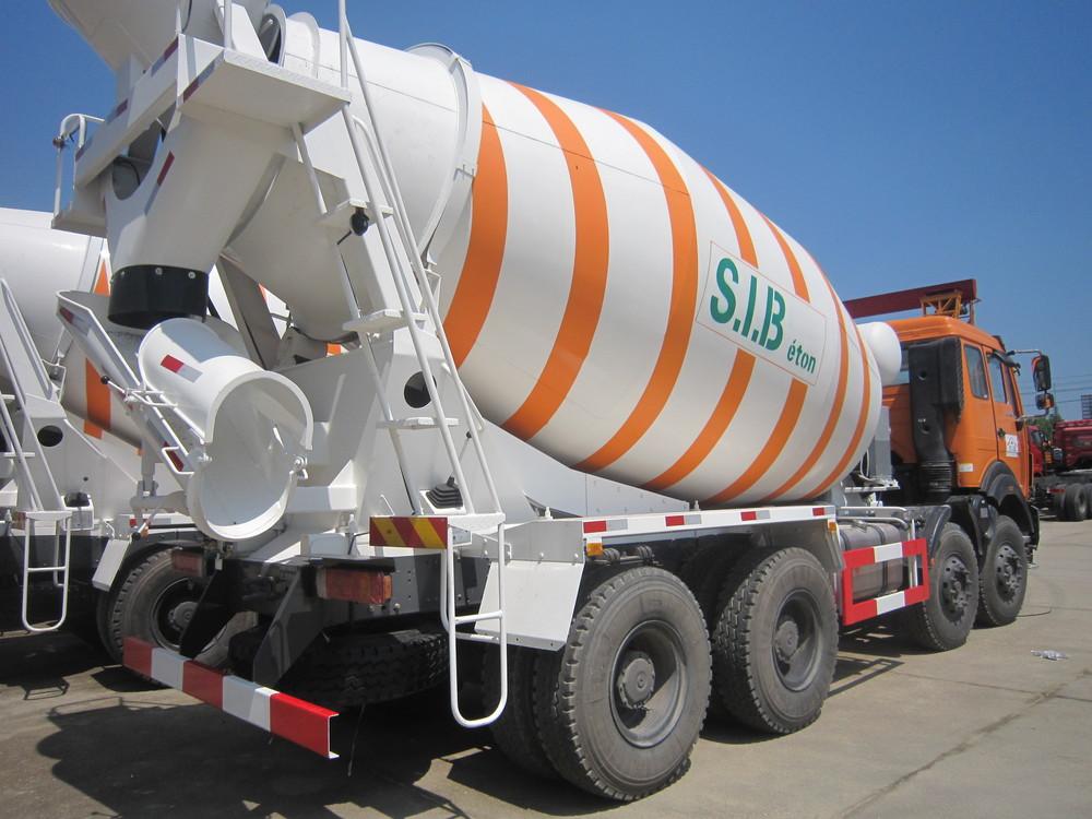 Heavy Duty Beiben 8*4 Concrete Mixer Truck 12Wheel Beiben Mixer Truck Concrete 8cbm Beiben concrete Mixing truck