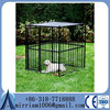 welded mesh style big metal dog kennel/Large Dog Runs kennels
