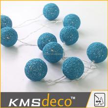 Latest product fashionable cotton string light balls wholesale