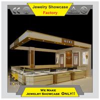 Modern jewellery display kiosk High quality jewelry display case for sale