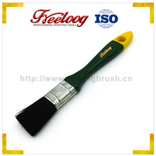 "Chinese factory custom pattern cover 2"" Poplar wood handle chinese bristle paint brush"