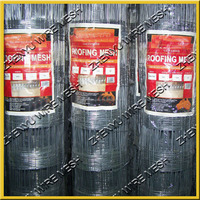 3x3 BRC 3315 Hot Galvanized Welded Roof Safe Mesh ,safety mesh/netting for roofing safety
