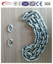 slaughter chain galvanized with connecting link made in China