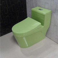 siphonic one-piece Toilet color toilet , water closet, toilet seats ceramic bathroom , ,sanitary ware