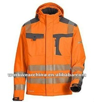 Hooded Hi Vis Jacket