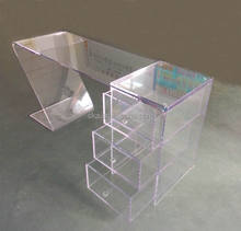 China factory customized clear acrylic computer desk for sale