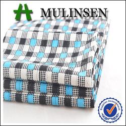 Mulinsen textile plaid printed spandex mini jacquard fabric