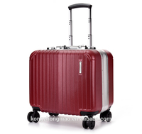 Candy color 16'' cabin size pc bell boy trolley luggage wholesale/2014 luggage trolley bag marilyn monroe suitcase