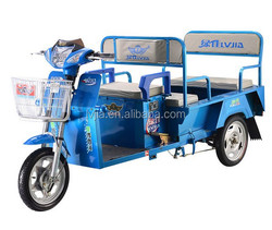 Electric chinese adults tricycle three wheel scooter for cargo