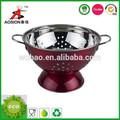 de alta calidad de acero inoxidable cesta de frutas para uso doméstico