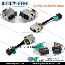 DC Power Port Socket Jack Connector and Cable Wire for HP 15-N020TX P/N: 730932-SD1(PJ630)