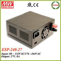 Meanwell 27v battery charger 8a ESP-240-27