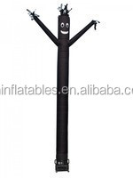 Air Dancer Black/advertising inflatable air dancer,single leg advertising inflatable sky dancer