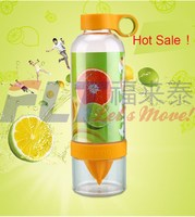 Hot 830ml plastic infuser water bottle for healthy drinking lifestyle