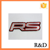 Metal Aluminum RS Car Emblem Badge Sticker Decal Logo Label 3D For CHEVY CHEVROLET