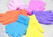new design warm and cute kids children fashion winter novelty boy 100% acrylic knit gloves