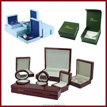 Customized Made-in-China Luxury Jewelry Box( Wooden jewelry box ,Paper jewelry box,PU jewelry box,plastic jewelry box.......)