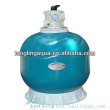 Frp b800 filtro de arena para tratamiento de agua/arena tanque del filtro para la acuicultura