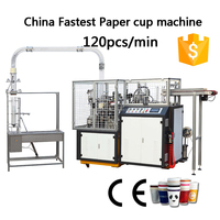 Automatic High Speed Paper Cup/Glass Making/Forming Machine Price(110-125pcs/min)