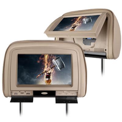 9 pouces appui t te moniteur lecteur dvd avec hdmi. Black Bedroom Furniture Sets. Home Design Ideas