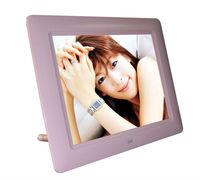 8 inch digital photo frame support auto-play/zoom/rotate/playback