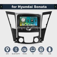 < YZG > electrónico automático Auto Radio 2 din Car Stereo para Hundai Sonata