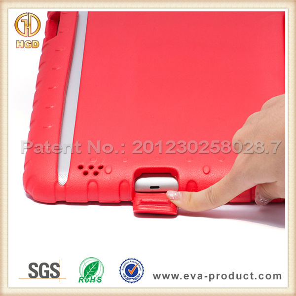 For EVA iPad Case for Kids Shockproof Convertible Stand Handle Case