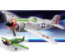 RTF Brushless 2.4Ghz 4CH R/C Plane P-47 Thunder rc helicopter