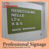 Special Acrylic Laser die cut logo Signboard
