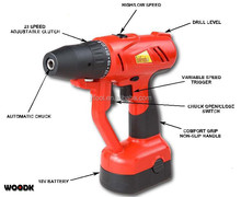 18V Cordless drill with Electric quickly release&Capture Chuck