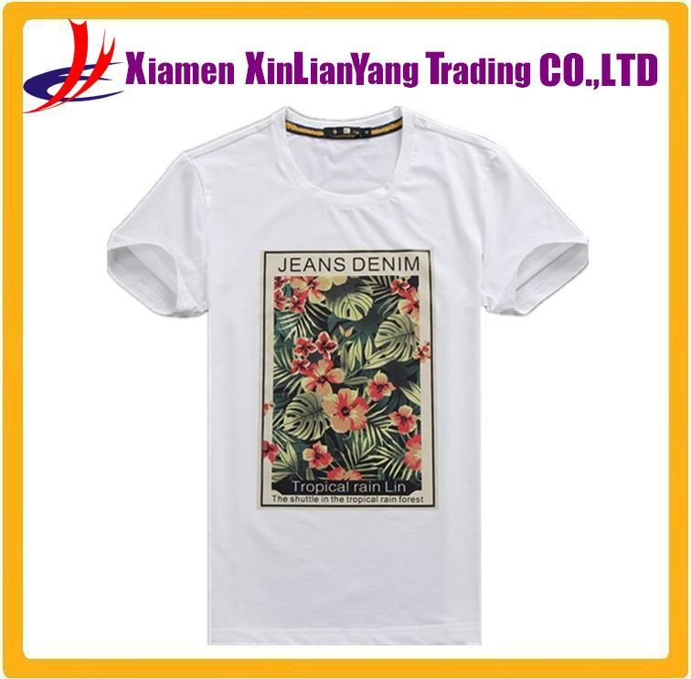 Mens screen printing t shirt wholesale 100 cotton white t for Screen printing t shirts cheap