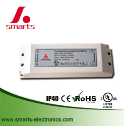 PFC>0.9 30w 12v triac dimmable led driver with 3 years warranty