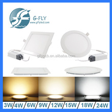 new products 2016 new design led ceiling panel light 9w