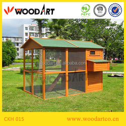 Outdoor easy cleaning chicken house designed for chicken cage