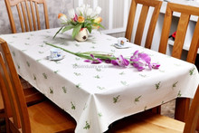 rectangle table cloth, plastic table cloth